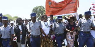 Thousands of Zimbabweans March Against Economic Sanctions Imposed by the West