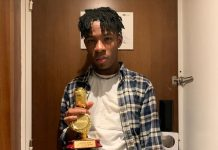 Joeboy wins his first at the 6th All Africa Music Awards (AFRIMA)