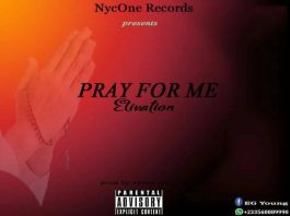 Cover art for 'Pray For Me' by Elivation Guy