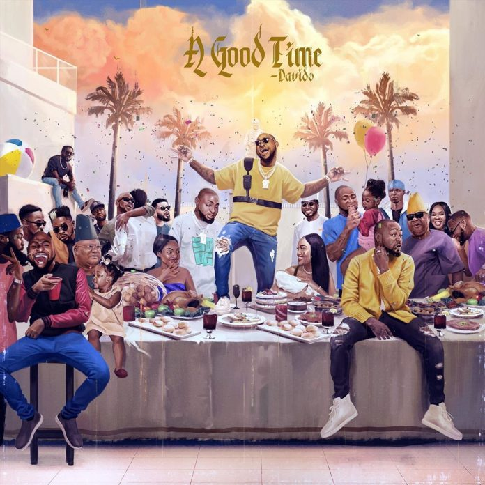 A Good Time cover art by Davido