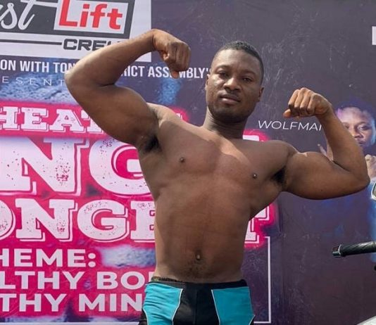Quarshie Emmanuel Awuku emerged winner of 2019 Tongu Strongest