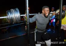 Winner of the first edition of Tongu Strongest