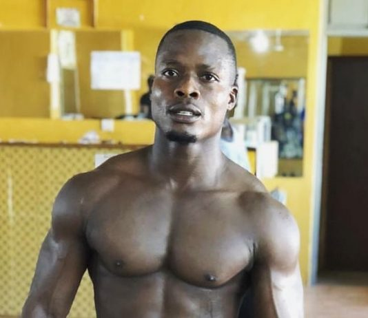 Kpodo Louis, popularly known as Banty, determined to win this year's Tongu Strongest
