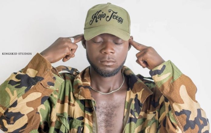 Kojo Teezy to drop another song after 'Busu'