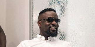 Sarkodie at SC Mobile one year anniversary