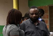 Woyome spotted at Radio Tongu registration center