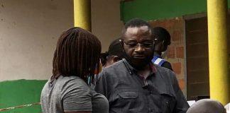 Woyome spotted at Radio Tongu registration center