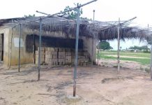 South Tongu MP provides school with building material