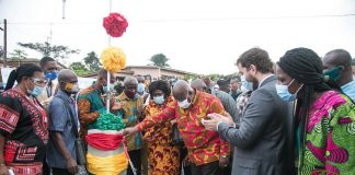 Akufo-Addo commissions Amedzofe water supply system