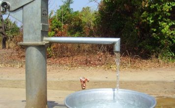 Pipe water