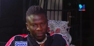 Stonebwoy speaking on Good Evening Ghana