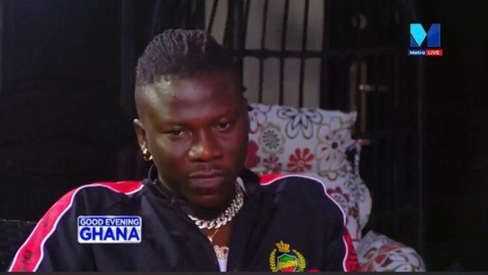 Stonebwoy speaking on Good Evening Ghana
