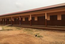New 6-unit classroom block at the Sogakope D/A Primary School C