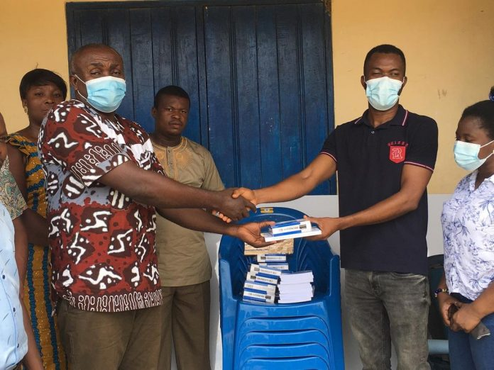 Ben-Doe Foundation donates teaching and learning materials to Volta Senior High