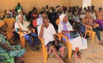 Town hall meeting at Agorta
