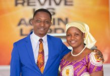 Pastor Issac Opoku and the wife