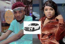 Mawuli Younggod and Bella of Date Rush